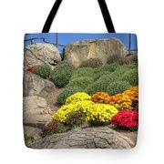 Ott's Greenhouse - Chrysanthemum Hill - Schwenksville - Pa Tote Bag