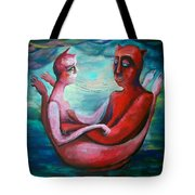 Our Boat Tote Bag