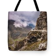 Our Bus Journey Through The Himalayas Tote Bag