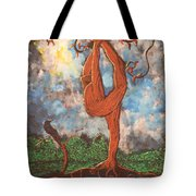 Our Dance With Nature Tote Bag