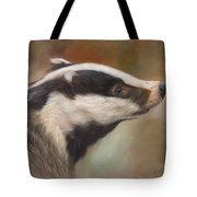 Our Friend The Badger Tote Bag