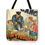 Our Gang Vintage Movie Poster 1930s Tote Bag