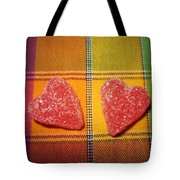 Our Hearts On The Table Tote Bag