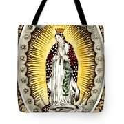 Our Lady Of Guadelupe 1848 Tote Bag