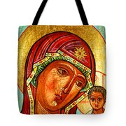 Our Lady Of Kazan Tote Bag
