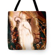 Our Lady Of Lourdes Tote Bag
