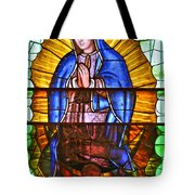 Our Lady Of Peace Tote Bag by Christine Till