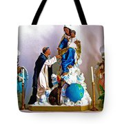 Our Lady Of Peace Tote Bag by Karon Melillo DeVega
