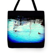 Our Life In The Middle Of Our Sea  Tote Bag