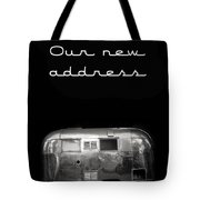 Our New Address Announcement Card Tote Bag