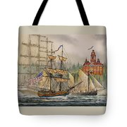 Our Seafaring Heritage Tote Bag by James Williamson