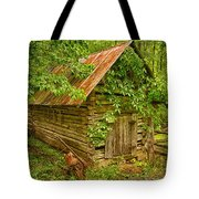Out Back Tote Bag by Priscilla Burgers