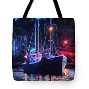 Out Before Dawn Tote Bag