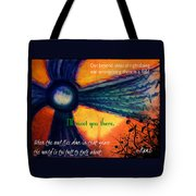 Out Beyond Ideas Tote Bag by Catherine McCoy