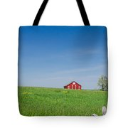 Out In The Big Wide Open Tote Bag