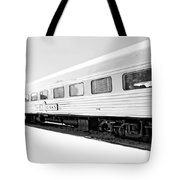 Out In The Open Bw Tote Bag