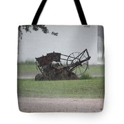 Out In The Rain Tote Bag