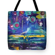 Out In The Universe Tote Bag