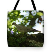 Out My Back Door Tote Bag