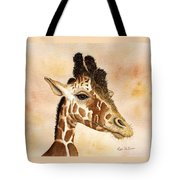 Out Of Africa's Giraffe Tote Bag