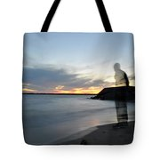 Out Of Body...out Of Mind...yet In Peace Tote Bag