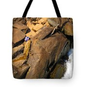 Out Of Bounds Tote Bag