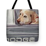 Out Of Dodge Tote Bag by Molly Poole