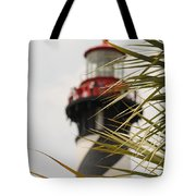 Out Of Focus Lighthouse Tote Bag