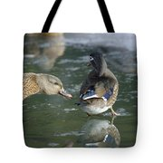Out Of My Roosting Ice Spot Shorty Tote Bag