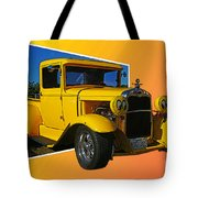 Out Of Picture Ford Tote Bag