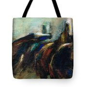 Out Of The Blue Into Reality Tote Bag
