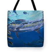 Out Of The Blue Off009 Tote Bag by Carey Chen