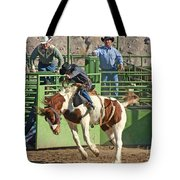 Out Of The Chute Tote Bag