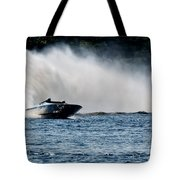 Out Of The Curve Tote Bag