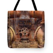 Out Of The Furnace Tote Bag