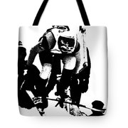Out Of The Gate Tote Bag