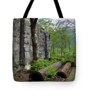Out From The Past Tote Bag