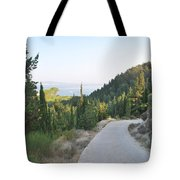 Out Of The Way Tote Bag