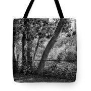 Out The Back Door Tote Bag