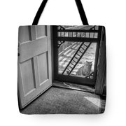 Out The Back Tote Bag