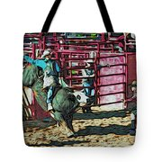 Out The Chute Tote Bag