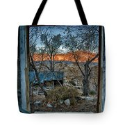 Out The Window Tote Bag