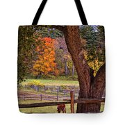 Out To Pasture Tote Bag by Joann Vitali