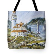 Out To Sea By Prankearts Tote Bag
