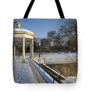 Out To The Gazebo Tote Bag
