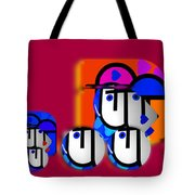 Outback Convoy Tote Bag