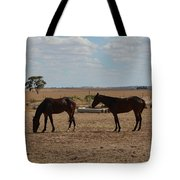 Outback Horses Tote Bag