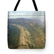 Outback Mountains Tote Bag
