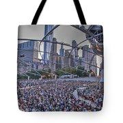 Chicago Outdoor Concert Tote Bag