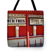 Outdoor Diner Tote Bag